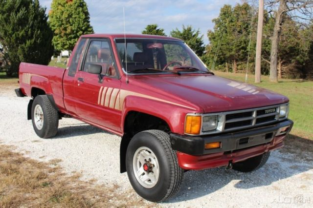1987 toyota sr5 pickup used 2 4l 4cyl manual 4wd 4x4 22re jasper for sale photos technical. Black Bedroom Furniture Sets. Home Design Ideas