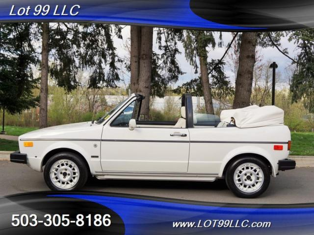 1987 Volkswagen Other White On White 94k.5 Speed Manual