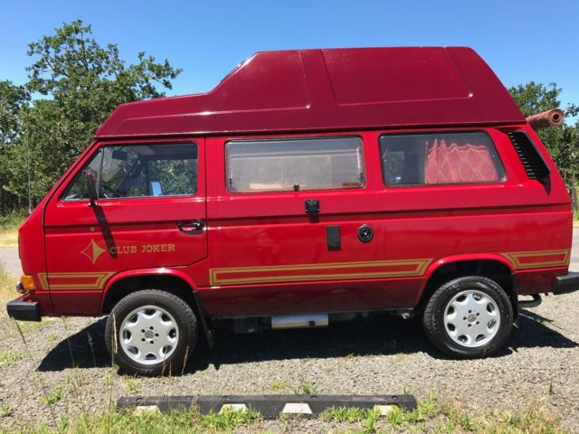 1987 Volkswagen Bus/Vanagon CLUB JOKER