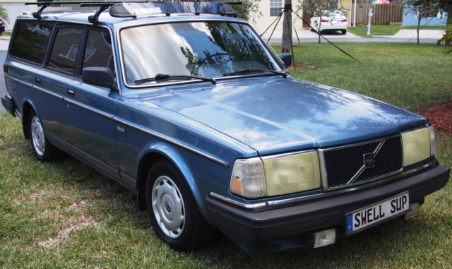 1987 volvo 245   240 dl wagon 4 door 2 3l  5 speed m47 manual transmission for sale photos 1987 Volvo 240 Sedan 1987 Volvo 240 DL Motor