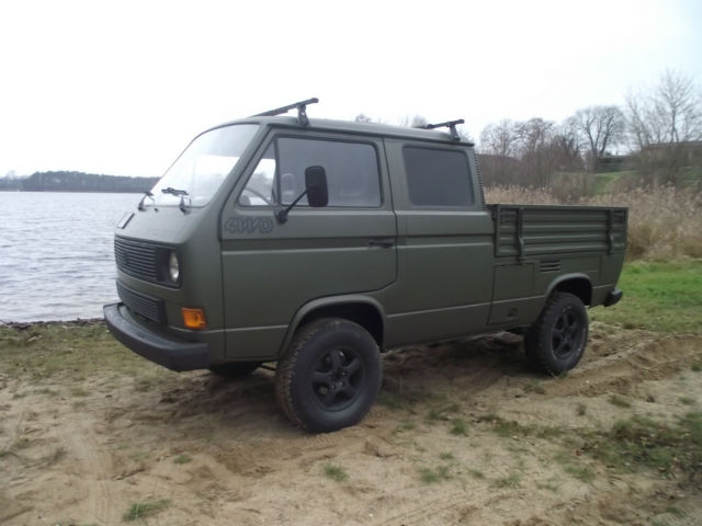 1987 vw transporter syncro 1 9 td diesel 4wd crew cab pickup for sale photos technical. Black Bedroom Furniture Sets. Home Design Ideas