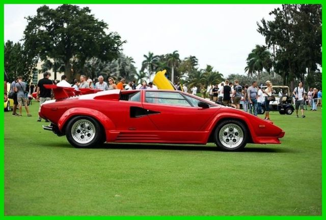 1988 Lamborghini Countach AUTOGRAPHED BY VALENTINO BALBONI FULLY SERVICED