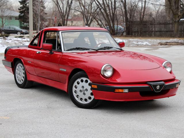 1988 Stunning, 4700 mile, Alfa Romeo Quadrifoglio Verde ...  |1988 Alfa Romeo Quadrifoglio