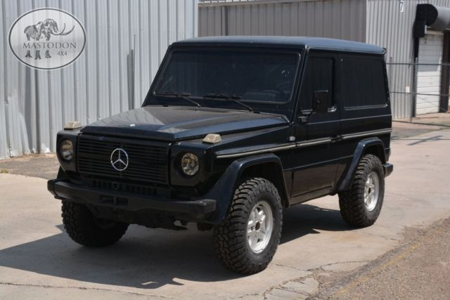1988 black diesel 2 door 617 g wagon g class diesel manual for sale photos technical. Black Bedroom Furniture Sets. Home Design Ideas