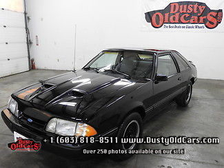 1988 Ford Mustang Runs Drives Body Interior Excellent Daily Driver