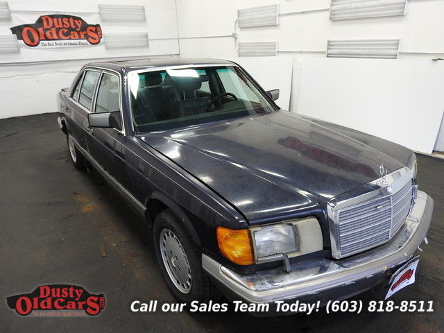 1988 Mercedes-Benz 400-Series Decent Car Needs Some Work 4.2L V8