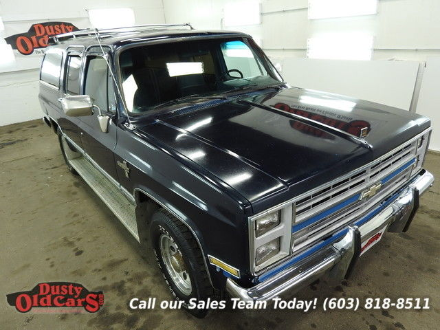 1988 Chevrolet Suburban Runs Drives Body Inter Good 454V8 3 spd Auto