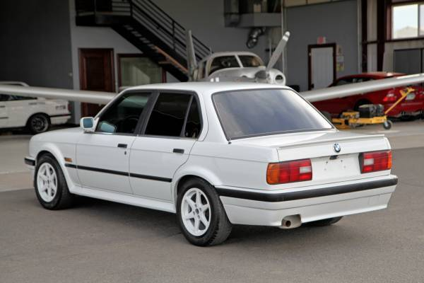 1988 Bmw 325ix Sedan Alpine White Indigo Blue Heated
