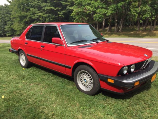 1988 BMW 5-Series 535iS