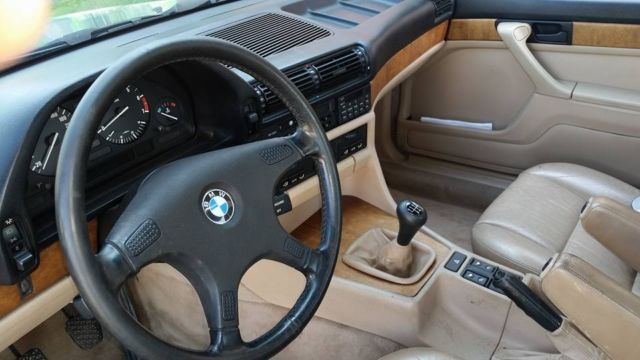 1988 Bmw 7 Series Bmw735i With 5 Speed Manual Transmission