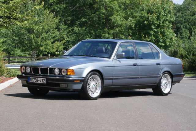 1988 BMW 750iL 11,346 Miles the Ultimate Driving Machine ...