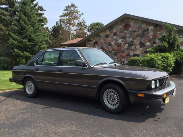 1988 bmw e28 528e manual transmission for sale photos technical specifications description. Black Bedroom Furniture Sets. Home Design Ideas