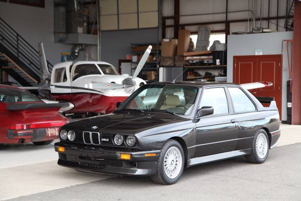 1988 Bmw E30 M3 Diamond Schwarz Natur Leather Evo Ii Rear