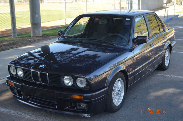 1988 BMW 3-Series 4 Door Sedan