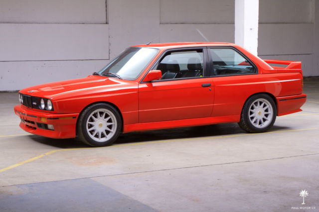 1988 Bmw M3 E30 Factory Hennarot Orange Paint Job 131 455 Miles