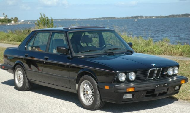 1988 bmw m5 for sale by original owner for sale photos technical. Black Bedroom Furniture Sets. Home Design Ideas