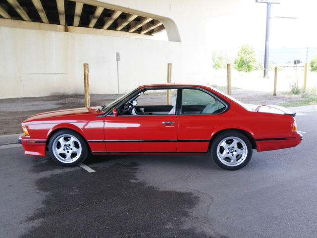 1988 Bmw M6 Clean Carfax Rust Free Amp All Service