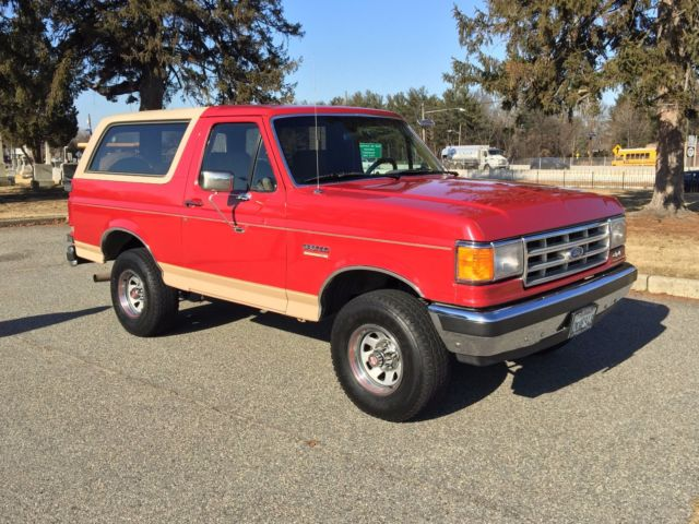 1988 Ford Bronco California Eddie Bauer Original Paint Survivor