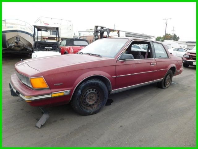 1988 Buick Century Limited Coupe 2-Door