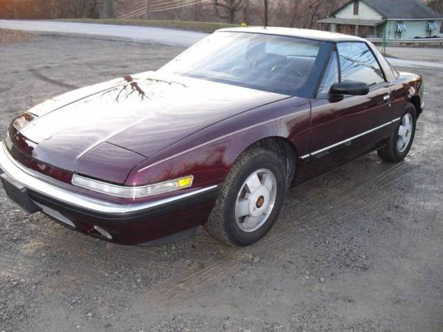 1988 Buick Reatta Base Coupe 2-Door Automatic 4-Speed V6 3.8L