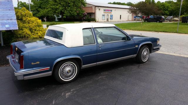 1988 Cadillac Coupe De Ville 80 600 Original Miles