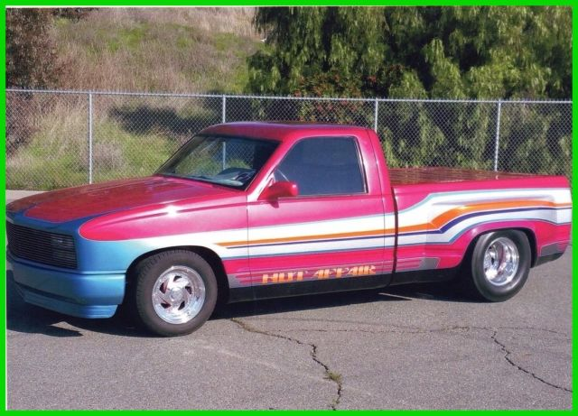 1988 Chevrolet C/K Pickup 1500 C1500 Custom C10 Shortbed Chevy Dually Truck