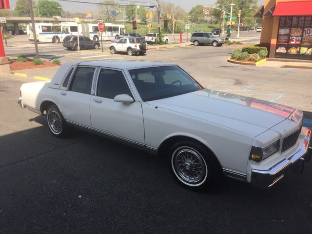 1988 chevrolet caprice classic ls brougham sedan 4 door 5 0l for sale photos technical specifications description topclassiccarsforsale com