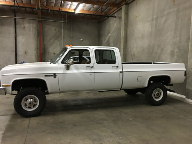 Last Year For Crew Cab K30 4x4 Autos Post