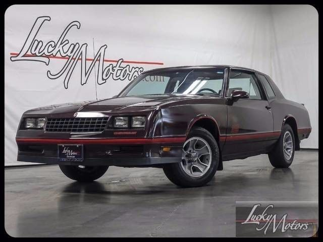 1988 Chevrolet Monte Carlo Sport SS T-Tops Clean Carfax!