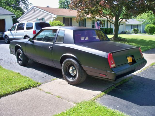 1988 chevrolet monte carlo ss virginia car t tops same as 1986 1987 for sale photos technical. Black Bedroom Furniture Sets. Home Design Ideas