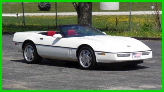 1988 Chevrolet Corvette ONLY 37,265 ORIGINAL MILES-SEE VIDEO