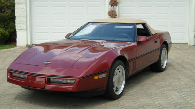 1988 chevy corvette convertible 57k 4 3 transmission very nice for 4.3 Chevy Water Pump 1988 chevy corvette convertible 57k 4 3 transmission very nice