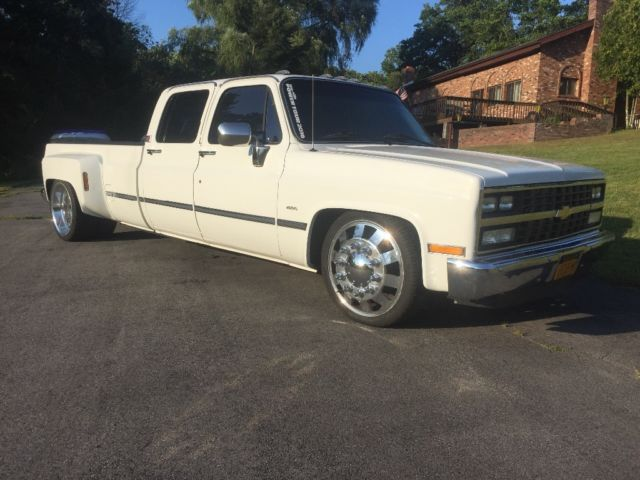 1988 chevy dually lowered squarebody c30 for sale photos technical specifications description. Black Bedroom Furniture Sets. Home Design Ideas