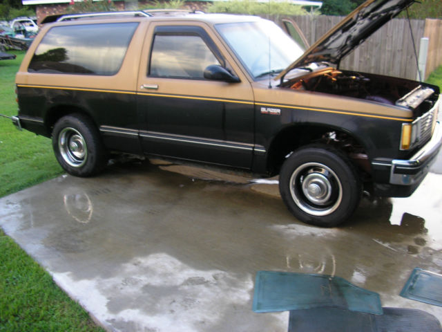 1988 chevy s 10 blazer v8 ready rolling chassis with no for Chevy v8 motors for sale
