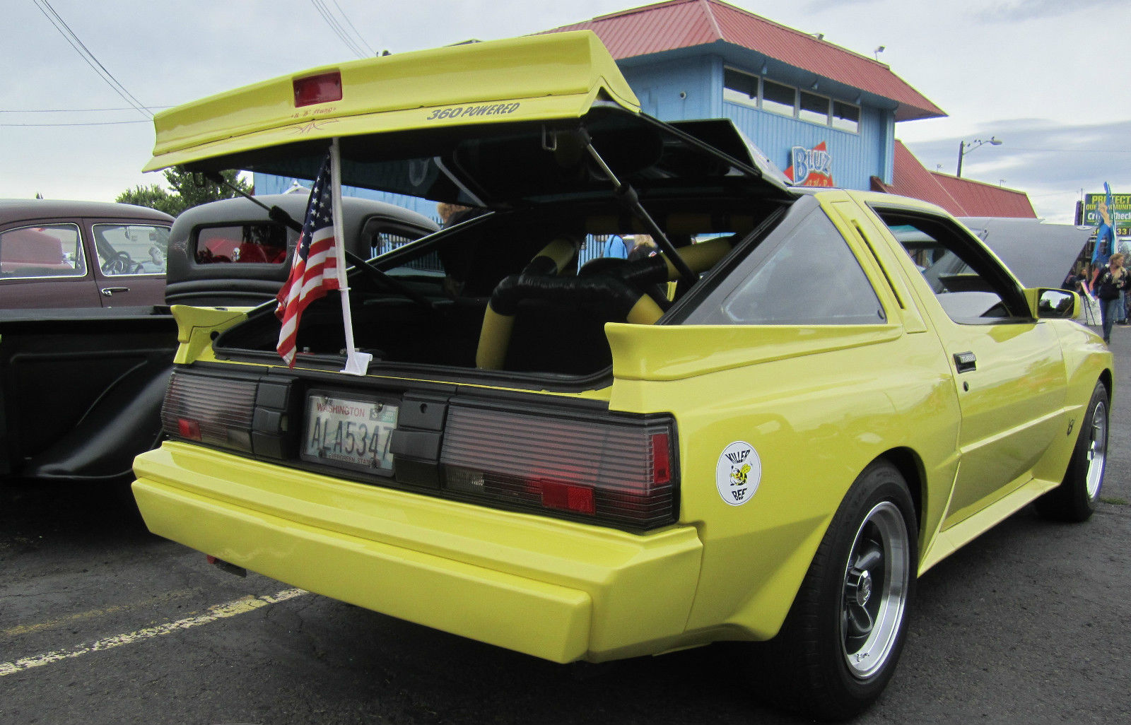 1988 Chrysler Conquest Tsi For Sale Or Trade: 1988 Chrysler Conquest V-8 Pro. Built For Sale: Photos