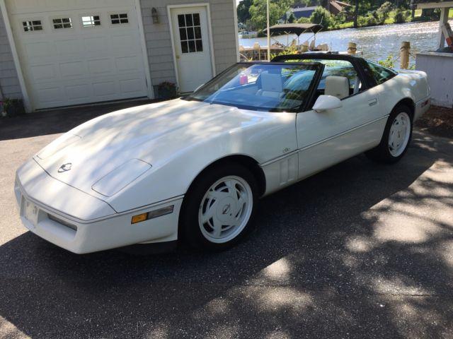 1988 corvette manual shift 35th anniversary edition convertible 76k rh topclassiccarsforsale com 90 Corvette 78 Corvette