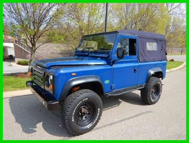 1988 Land Rover Defender Defender 90 Convertible