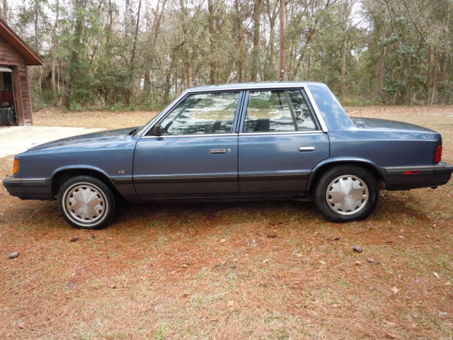 1988 Dodge Aries Le K Car For Sale Photos Technical Specifications