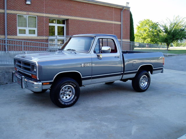 1988 Dodge Other Pickups Power Ram D150 4x4