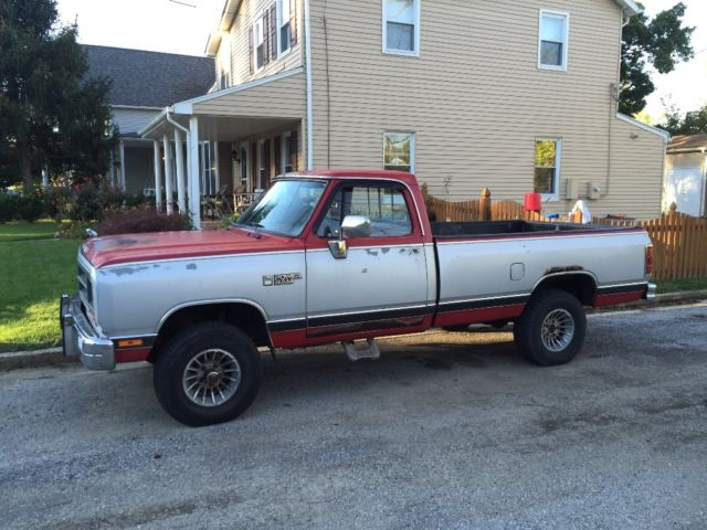 1988 Dodge Other Pickups W150 Power Wagon