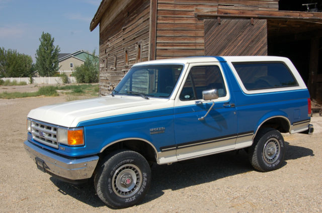 1988 Ford Bronco 4x4 One Owner Survivor 100% Rust Free 99k Miles!