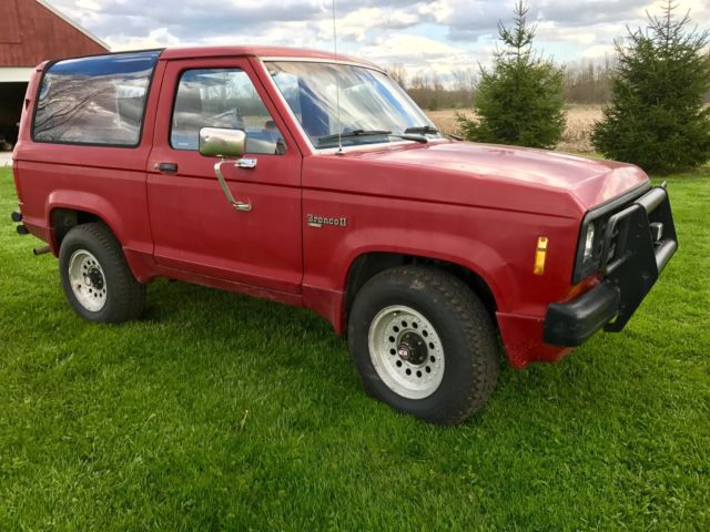 1989 Ford Bronco II xl