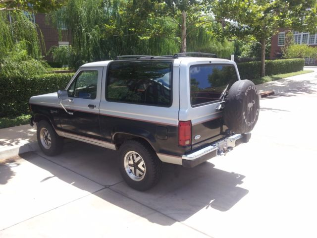 1988 ford bronco ii xlt for sale photos technical specifications description. Black Bedroom Furniture Sets. Home Design Ideas