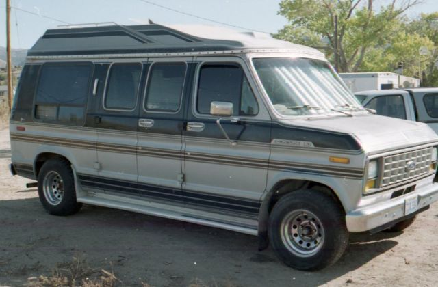 1988 ford e150 conversion van for sale photos technical