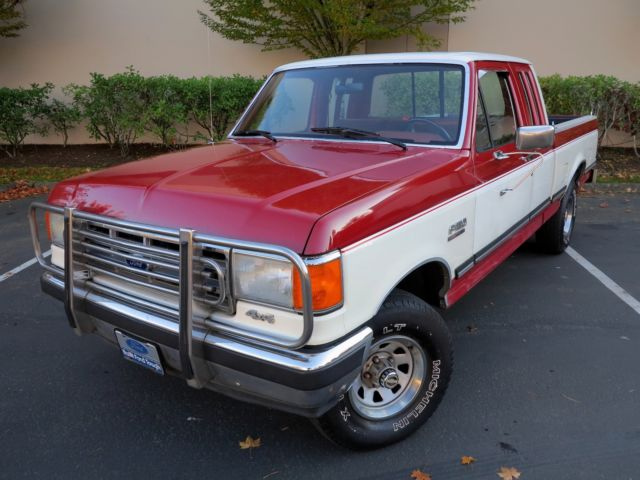 1988 Ford F-150 SuperCab XLT Lariat Shortbox