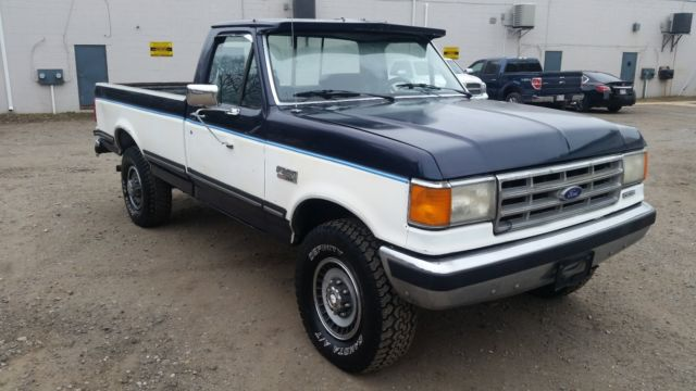 1988 ford f 250 diesel 4x4 lariat for sale photos technical specifications description. Black Bedroom Furniture Sets. Home Design Ideas