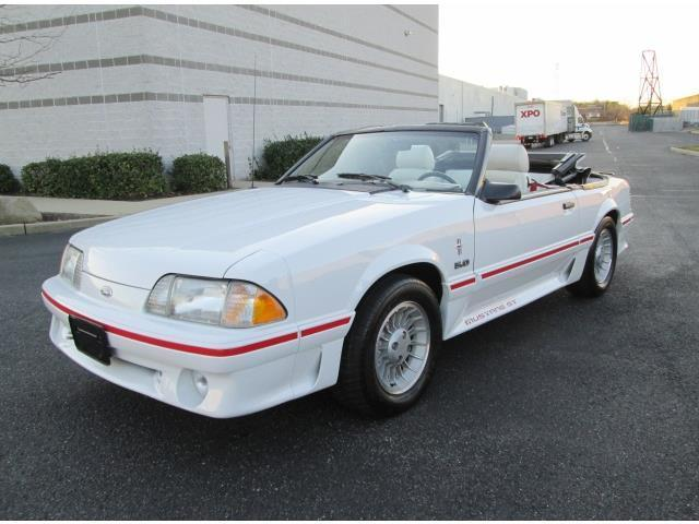 1988 ford mustang gt convertible white 57k miles 1 owner rare find stunning car for sale photos. Black Bedroom Furniture Sets. Home Design Ideas