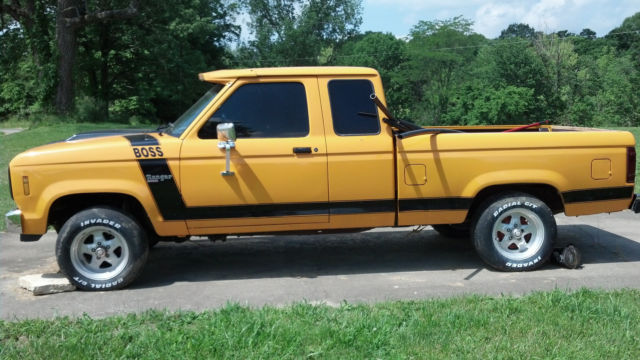 1988 Ford Ranger Turbo 23 Project Ford Turbo 23 Parts and