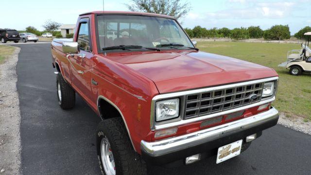 1988 Ford Ranger Xlt 4x4 Lwb V8 Show Truck With Over 30k