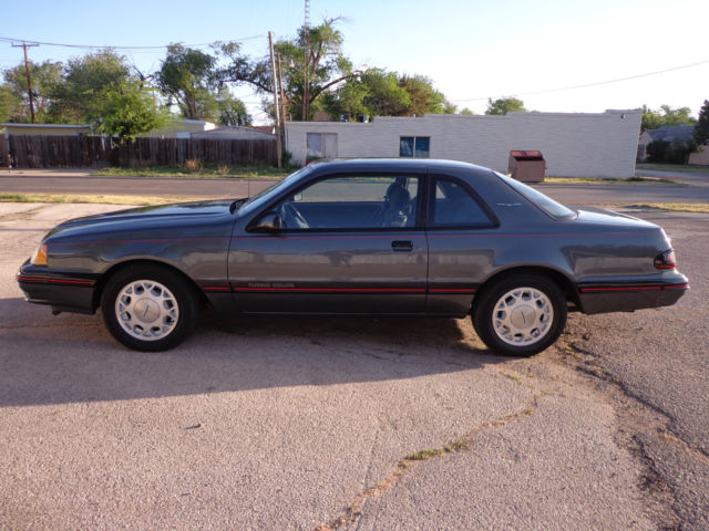 1988 Ford Thunderbird Turbocoupe